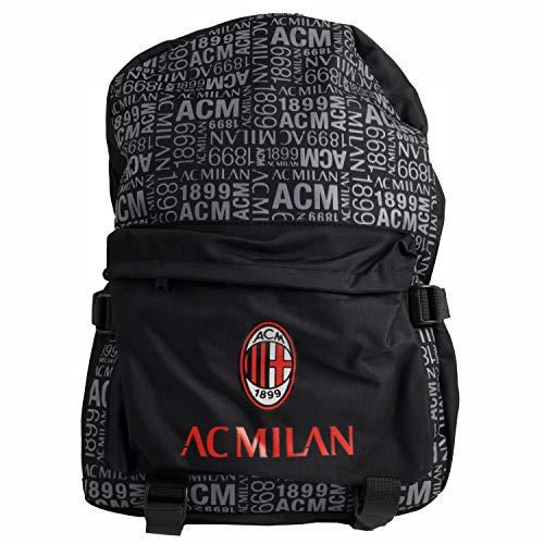 AC Milan, Borsa Zaino Nessun Genere, Nero, L