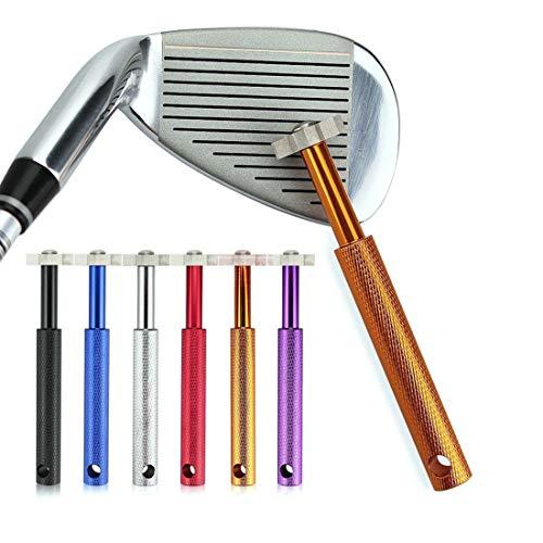 MENG Golf Club Groove Sharpener, die de backspin en bal controle van alle wiggen en ijzers verbetert, voor alle ijzers om de bal kloof en naderen wiggen