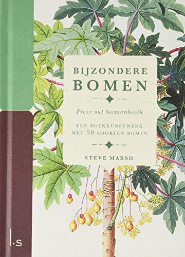 Bijzondere Bomen: Press-out boek