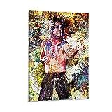 Ozzy Osbourne Art Musiker Abstraktes Poster HD Poster