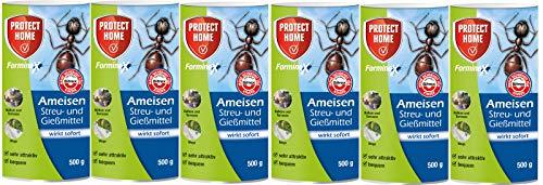 6 x 500 g Bayer Blattanex Ameisen Streu- und Gießmittel