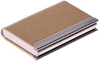 Porte-cartes de visite haut de gamme Carte à grande capacité Case-Gold
