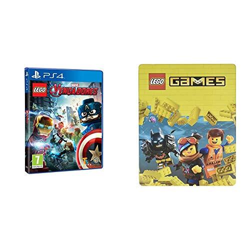LEGO Vengadores (Edición Exclusiva Amazon)  + Steelbook Lego Games
