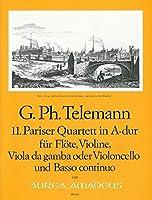 TELEMANN - Cuarteto en La Mayor (TWV:43/a3) (Partitura/Partes)