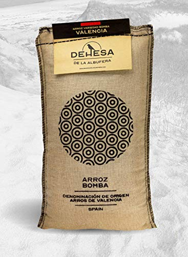 Arroz Bomba 1/2 kg D.O. Valencia - Dehesa de la Albufera arroz Gourmet
