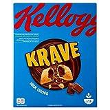Kellogg's Choco Krave Cerali, Cioccolato al Latte, 410g...