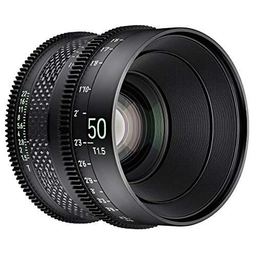 Samyang XEEN - Objetivo (CF 50 mm, T1.5 FF, Cine SONY E)