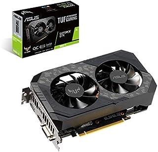 ASUS TUF-GTX1660TI-O6G-GAMING GeForce GTX 1660 Ti 6 GB GDDR6 - Tarjeta gráfica (GeForce GTX 1660 Ti, 6 GB, GDDR6, 192 bit, 7680 x 4320 Pixeles, PCI Express 3.0)