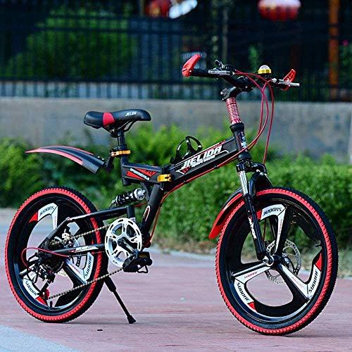Bicicleta de los niños Bicicletas for niños estilo libre shock bicicleta plegable...