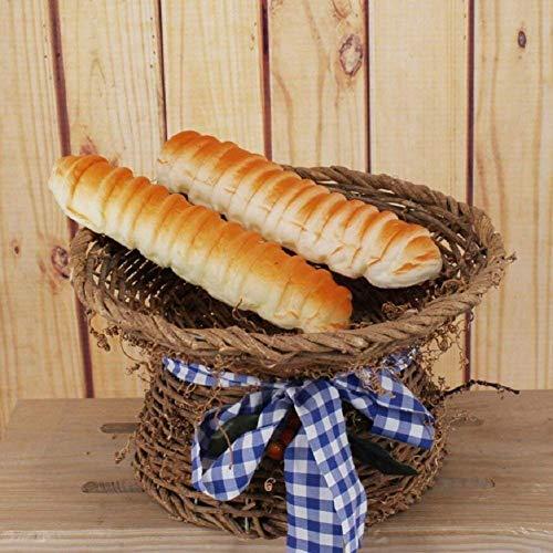 Simulation Französisch Brot Imitation Künstlich Französisch Lange Anzeige Brot Modell Küche Dekor-Kind-Pretend Tricky Toy zcaqtajro