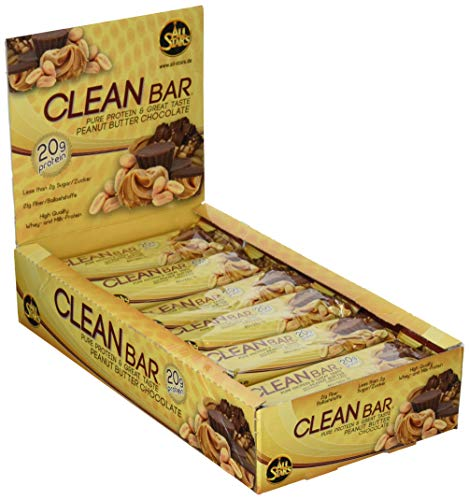 Preisvergleich Produktbild All Stars Clean Bar,  Peanut Butter Chocolate,  18er Pack (18 x 60 g)