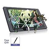 HUION KAMVAS GT-221 Pro Tableta Gráfica con Pantalla, Tableta Grafica Dibujo con Función de 21.5 ''con Pantalla de Cristal Antideslumbrante IPS Full HD, 20 Teclas de Acceso Directo y 2 Barras Táctiles