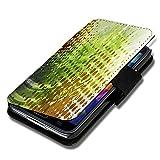 wicostar Book Style Flip Handy Tasche Hülle Schutz Hülle Schale Motiv Foto Etui für LG Bello 2 / Bello II - Flip X17 Design4