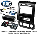 PAC Audio Integrated Installation Kit 2015-2017 Ford F150 And F250