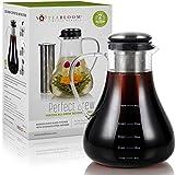 Teabloom All-Brew Beverage Maker – Large Stovetop Safe Glass Teapot/Pitcher (50 OZ / 1.5L) – Hot...