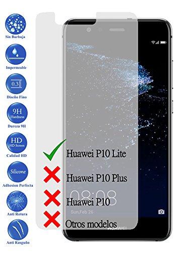 Todotumovil Protector de Pantalla Huawei Ascend P10 Lite de Cristal Templado Vidrio...