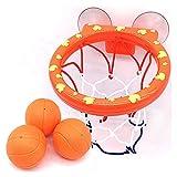 PDVCB Mini Baloncesto Hoop Bath Toy en Smokings Set for Niño Niño Desarrollo de Juegos al Aire Libre de Chico Kit de Herramientas Deportivas Interesante for bebé Juego