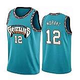 Fei Fei Memphis Grizzlies Ja Morant #12 Camiseta de Baloncesto para Hombres Retro Chaleco de Gimnasia Top Deportivo Jerseys (Tamaño: S-XXL),5,M