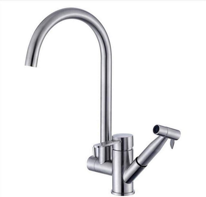 Hot and Cold Vintage Brass Bathroom Kitchen Sink Taps Bathroom Taps 304 Stainless Steel Tap Kitchen Spring Tap