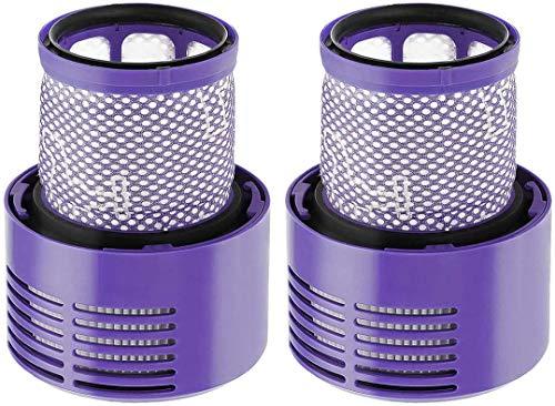 DONGYAO Accesorios para Dyson Vacuum Dog Pet Animal Novio Cepillo Manguera Extensión para Dyson V11 V10 V8 V7 con adaptador convertidor (color: 2 piezas) para aspiradora (color 2 piezas)