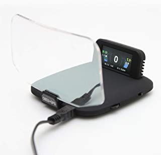 ヘッドアップディスプレイ OBD2による簡単取り付け多機能メーター 【HUD-C1】