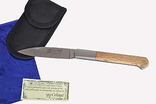 Couteau Celaya Cabritera Acier inoxidable bois de chêne