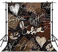 GooEoo 8×8FTシームレスなバレンタインデーのテーマ絵布カスタマイズされた写真の背景の背景スタジオプロップVDD048B
