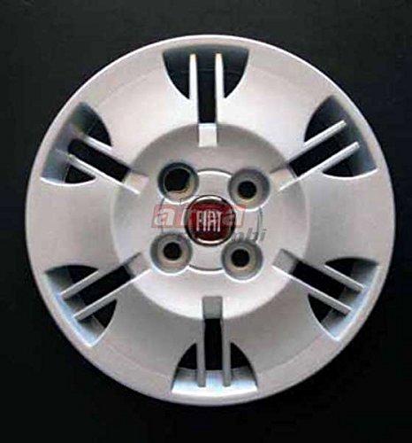 4Tassen Rad für Fiat Panda Dynamic 13Radzierblenden mit rotem Logo