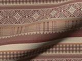 Polsterstoff KALTERN CS 955 Muster Streifen, Farbe braun,