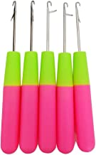 Latch Crochet Needle Hair Hook Needle and Sweater Knitting DIY Tool 6inch 10 pieces/lot