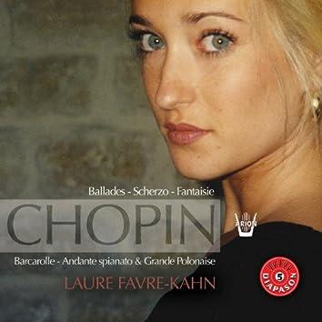 Chopin : Ballades, scherzo, fantaisies