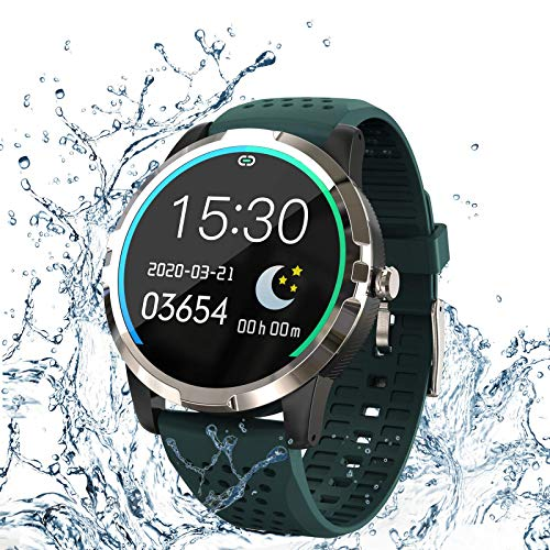 Smart Watch,Fitness Trackers with Heart Rate,Blood Oxygen,Blood Pressure Monitor,Sleep Tracker,Step...