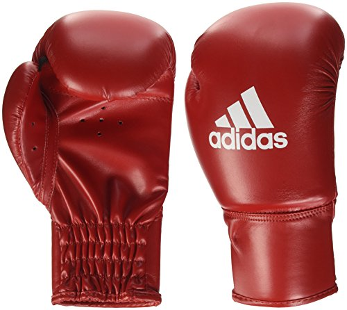 adidas Rookie II Boxhandschuhe, Rot/Weiß, 8 oz