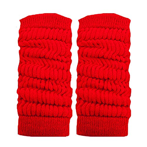 Toocool LO-LW01 Jambières unisexes à la mode, chaudes, pour danse, hiver - Rouge - Taille Unique