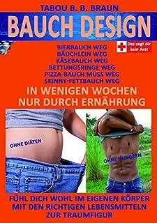 Bauch-Design: Kaesebauch weg, Pizzabauch weg, Baeuchlein weg, Skinny-Fettbauch weg, Bierbauch weg, Rettungsringe weg. In w...