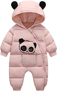Fairy Baby Toddler Baby Boy Girl Outfit Romper Panda Winter Fleece Snowsuit Outwear