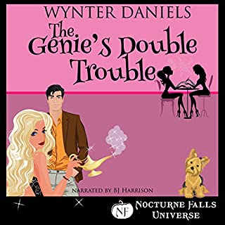 The Genie's Double Trouble: A Nocturne Falls Universe Story audiobook cover art