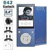 CFZC Lecteur MP3 Bluetooth4.2, 16 Go Lecteur de Musique MP3 Haut-Parleur intégré...