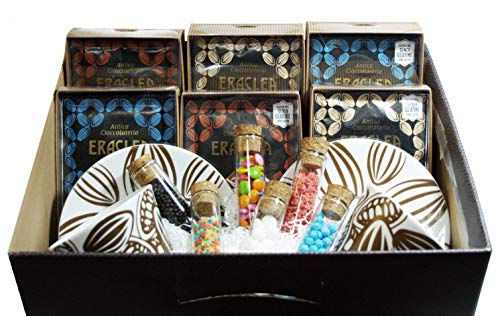 CONFEZIONE REGALO CIOCCOLATE ERACLEA 'LARGE' Cioccolate 35-36-37-38-39-41