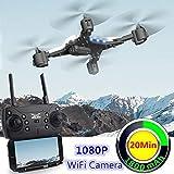 SUNHAO Drone avec caméra 1080p Selfie Drones avec caméra HD Quadricoptère Pliable Quadricoptère Fly 18 Minutes VS E58 de Gameshome, 45,65 CAD | DHgate.COM