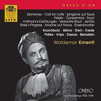 Idomeneo, Così fan tutte, Iphigenie auf Tauris, Fidelio, Cenerentola, Faust, Hoffmanns Erzählungen, Verkaufte Braut, Jenufa & Rake's Progress