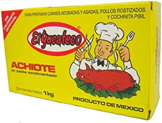 El Yucateco Achiote Paste, 2.2 Pound