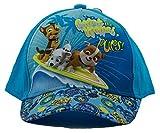 Paw Patrol Gorra, gorra de béisbol, gorra para niños, niñas y niños, 100% algodón con velcro ajustable (52, Turquesa)