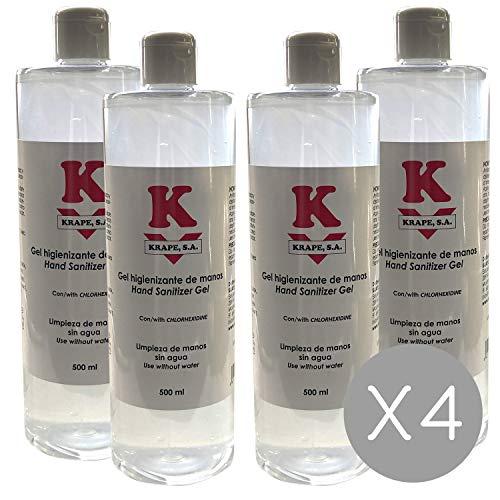 Gel hidroalcohólico Betafar 500 ml' (4)