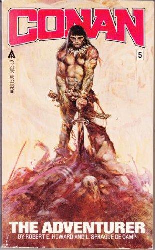 Conan 05: Conan the Adventurer 0441115985 Book Cover