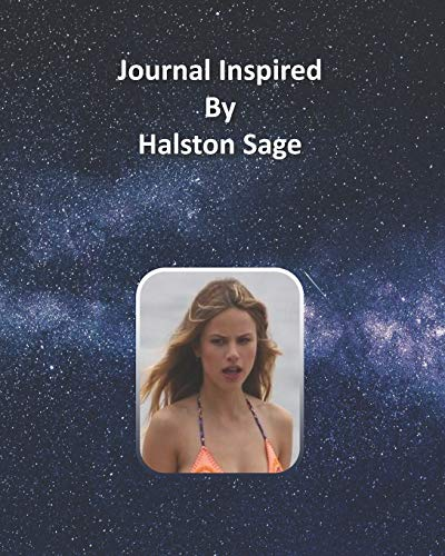 Journal Inspired by Halston Sage