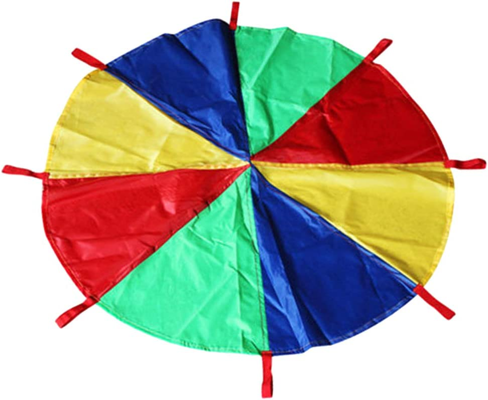 Tongina 6~16ft Multicolored Luxury goods Kid's Play Parachute favorite Tent