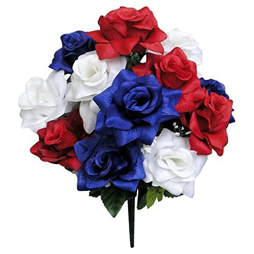 Red White And Blue Table Decoration Centerpieces Amazon Com