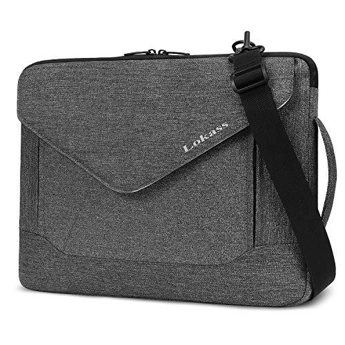 LOKASS Laptop Sleeve Case Bag Protective Briefcase Handbag $9.43 (64% Off)