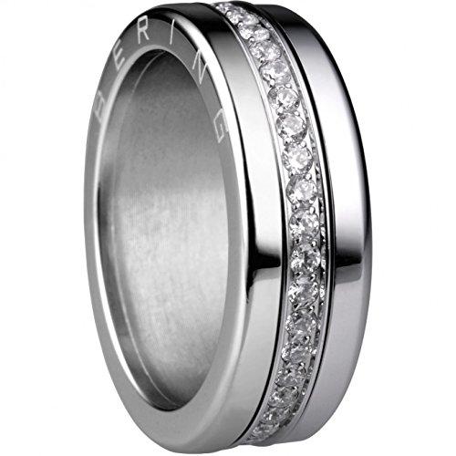 BERING Kombi-Ring für Damen in silber | Twist & Change | Arusha 10